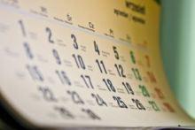Ein Kalendar zum feststellen der fruchtbarsten Tage
