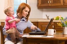 Eltern auf Jobsuche