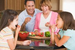 Die ideale Küche für die Familie
