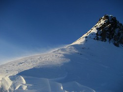 Schnee im Allgäu