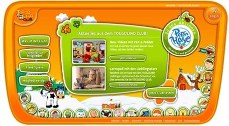 Toggolino Webseite