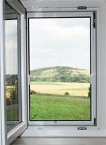 Fenster mit Fliegengitter